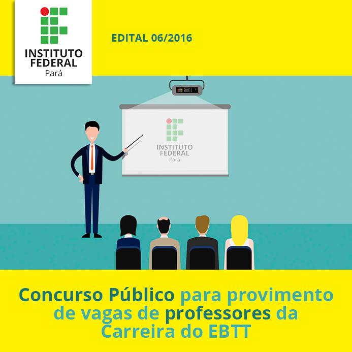 Concurso para professores do ebtt edital 06 2016 for Concurso para profesores 2016